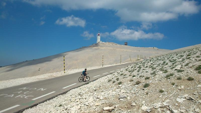 Rando Cyclo Bull 2015 - Le mont Ventoux