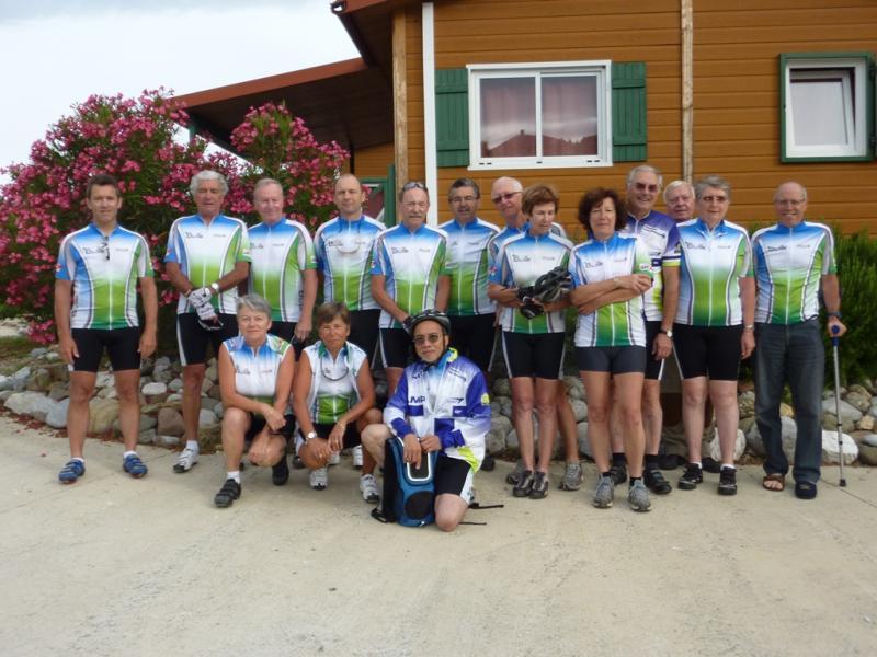 Rando Cyclo Bull 2011 - L'équipe BCP