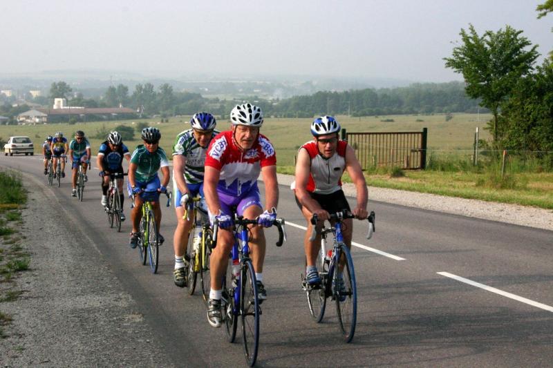 Rando Cyclo Bull 2007 - Les Itinérants en route vers l'Alsace