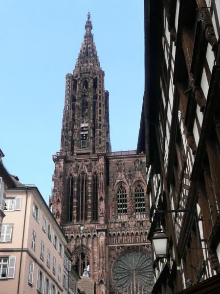 Rando Cyclo Bull 2007 - La cathédrale de Strasbourg