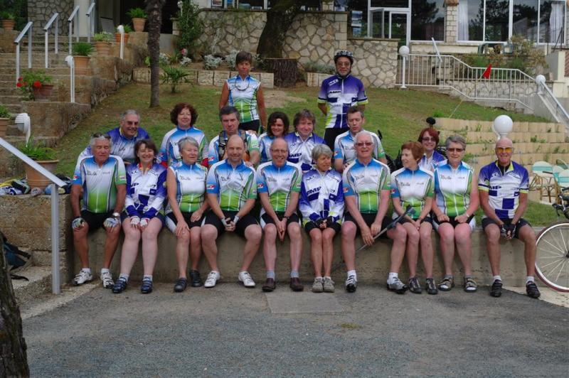 Rando cyclo Bull 2012 - L'équipe BCP