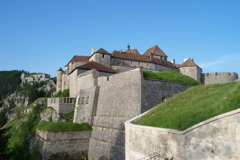 Rando Cyclo Bull 2003 - Le chateau de Joux