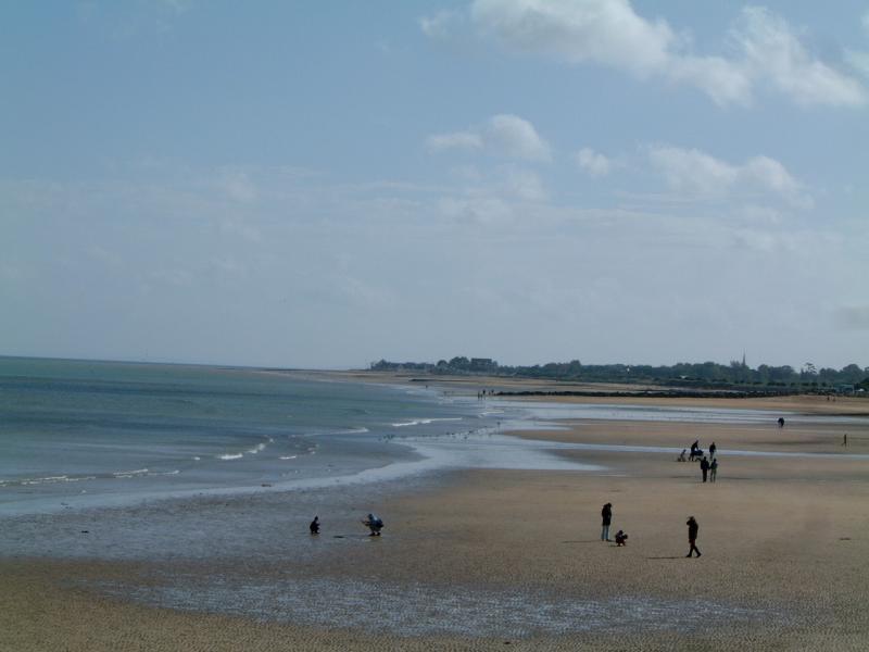 Rando BCP 2006 - La plage d'Arromanche